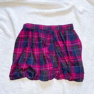 AEROPOSTALE Lorimer NYC Plaid Skirt